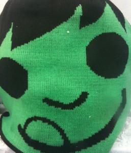 Green face of facebook holiday envy