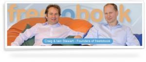 Directors at freetobook Craig and Iain Stewart