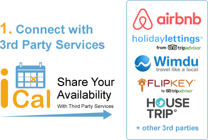 iCal calendar sync holiday lettings airbnb flipkey