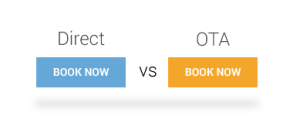 Direct bookings vs OTA bookings