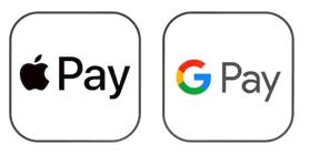 ApplePay and GooglePay
