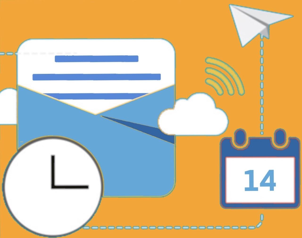 schedule guest messages