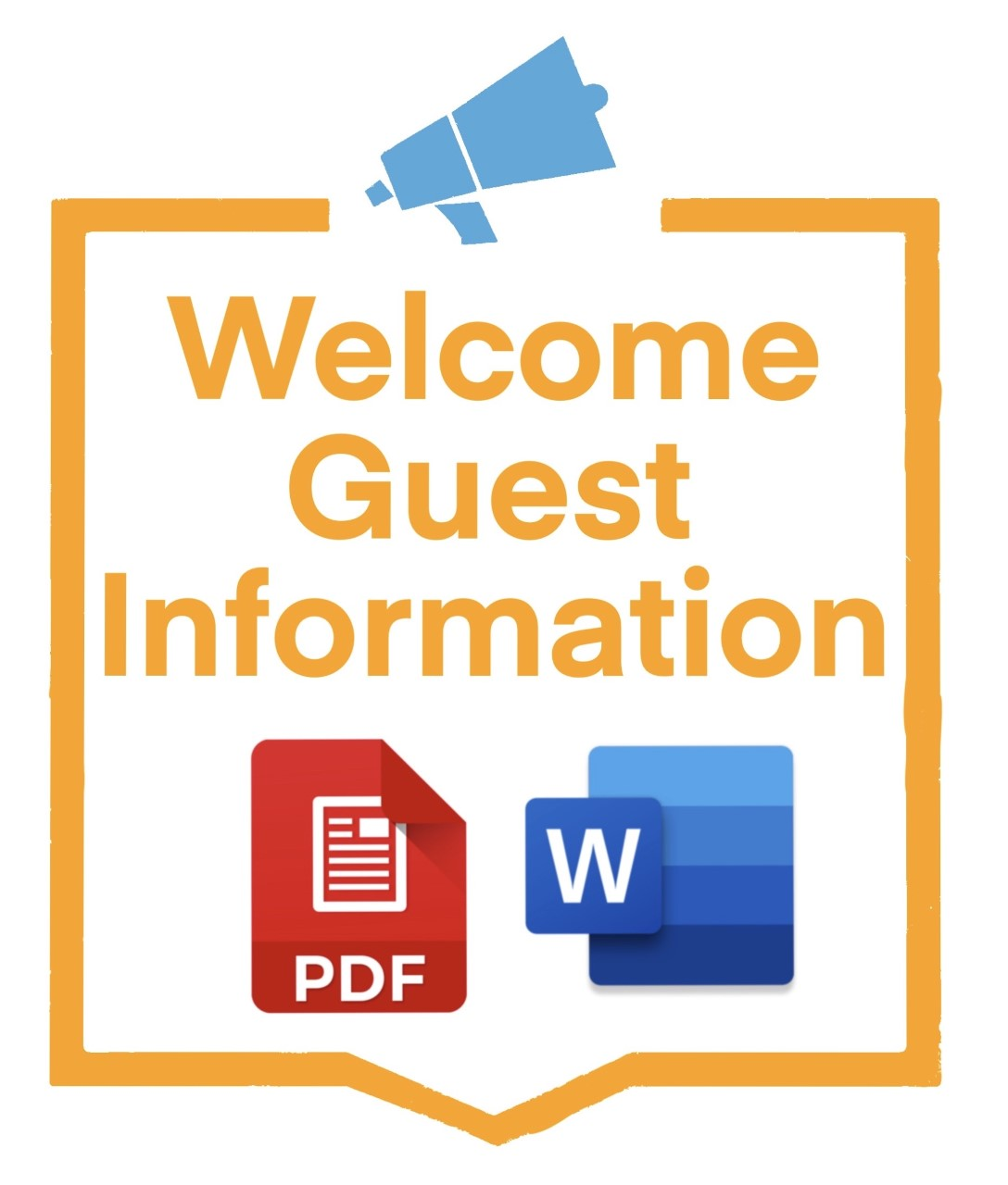 welcome guest message