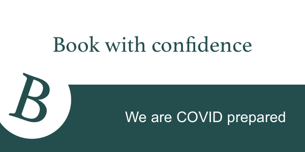 Book with confidence Covid19 prepared