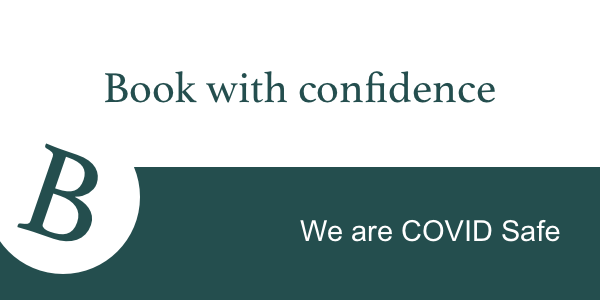 book with confidence covid safe
