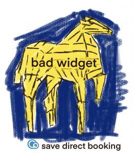yellow trojan horse bad widget