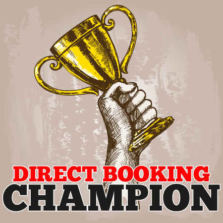 direct booking champion